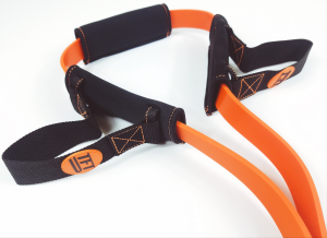A Slim Gym Tension Fit Trainer resistance band from Tension Fitness
